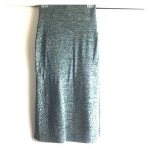 NWOT H&M long split sides skirt